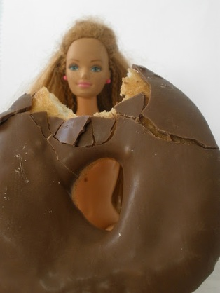 Barbie donut
